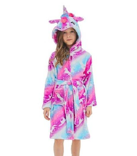 2019 Newest Unicorn Bathrobe for Girls