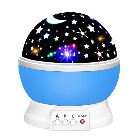 Dreamingbox Star Night Light Lamps 360-Degree Rotating