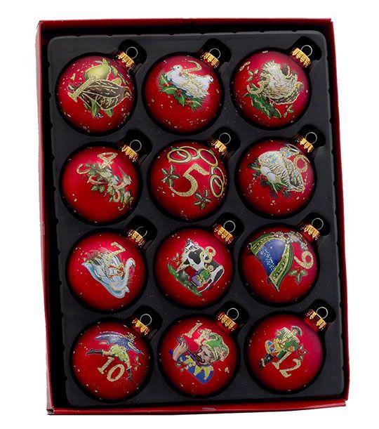 Kurt Adler 12-Days of Christmas Set