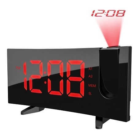 PICTEK Projection Alarm Clock