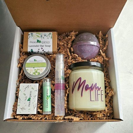 Peace Organics Spa Gift Box