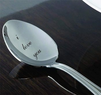 Personalized coffee spoon