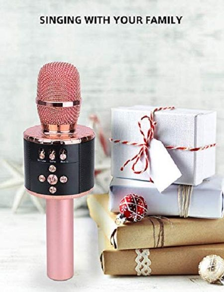 SUNNYPIG Wireless Bluetooth Karaoke Microphone Party Time