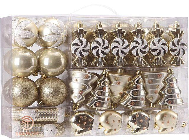 Sea Team Shatterproof Christmas Balls