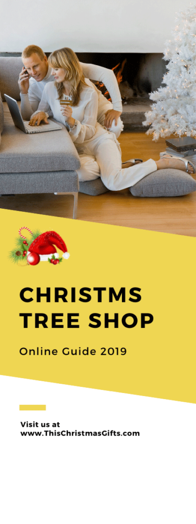 Christmas Tree Shop Online Guide 2019